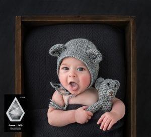 Award winning baby photograph