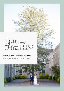 Getting Hitched, The Garage Studio, Wedding price guide