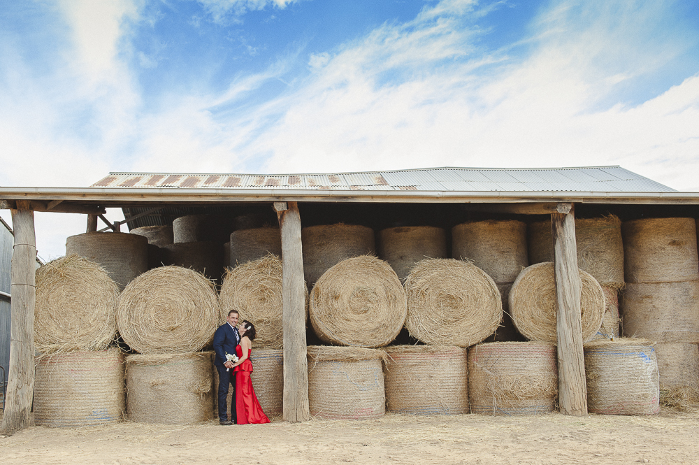 Dahra and Ian – Farm Wedding at Anvil Angus