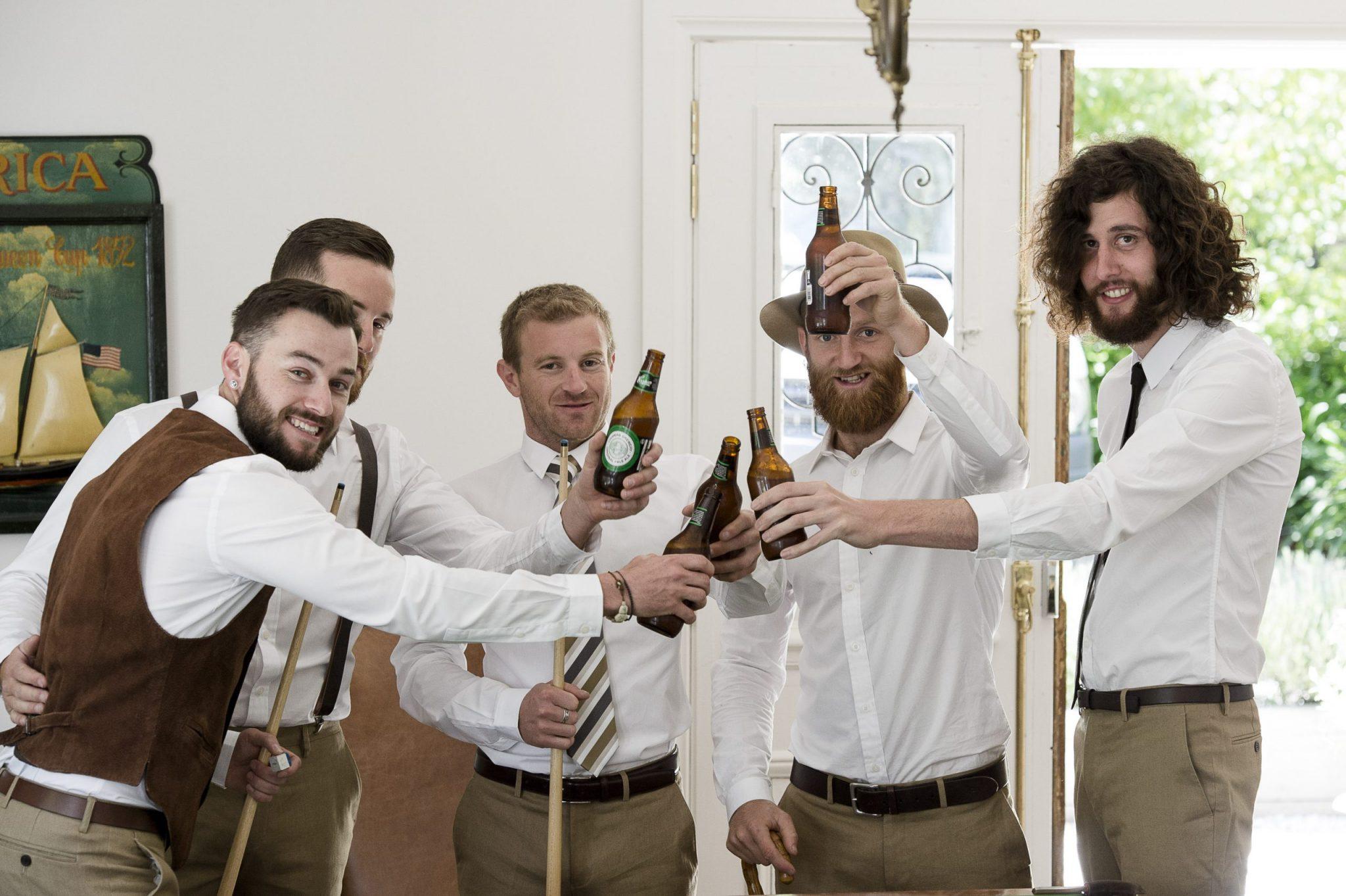 groomsmen, groom, Daylesford wedding, country wedding, vintage wedding