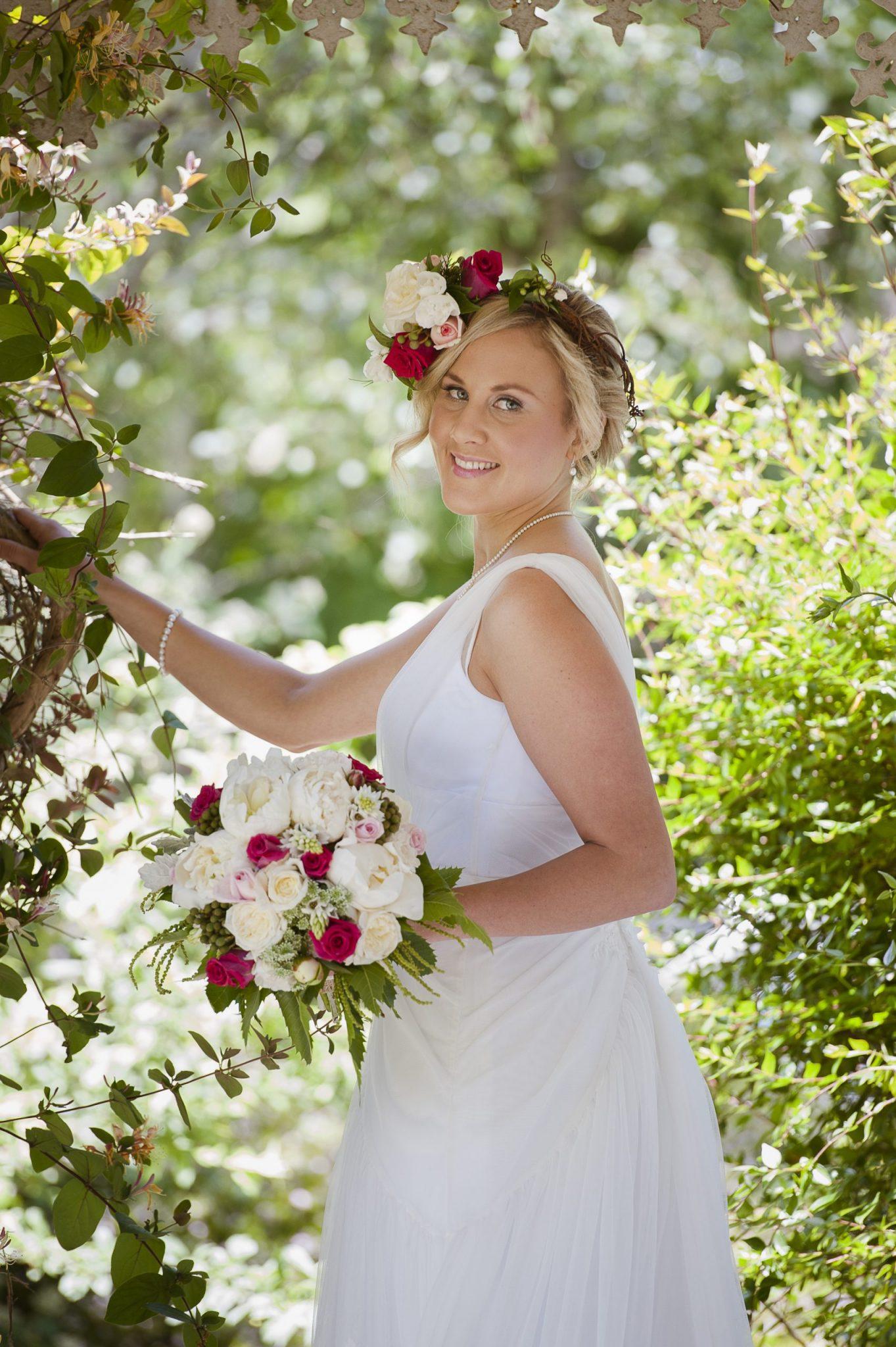 wedding flowers, vintage bride, Daylesford wedding, country wedding, vintage wedding