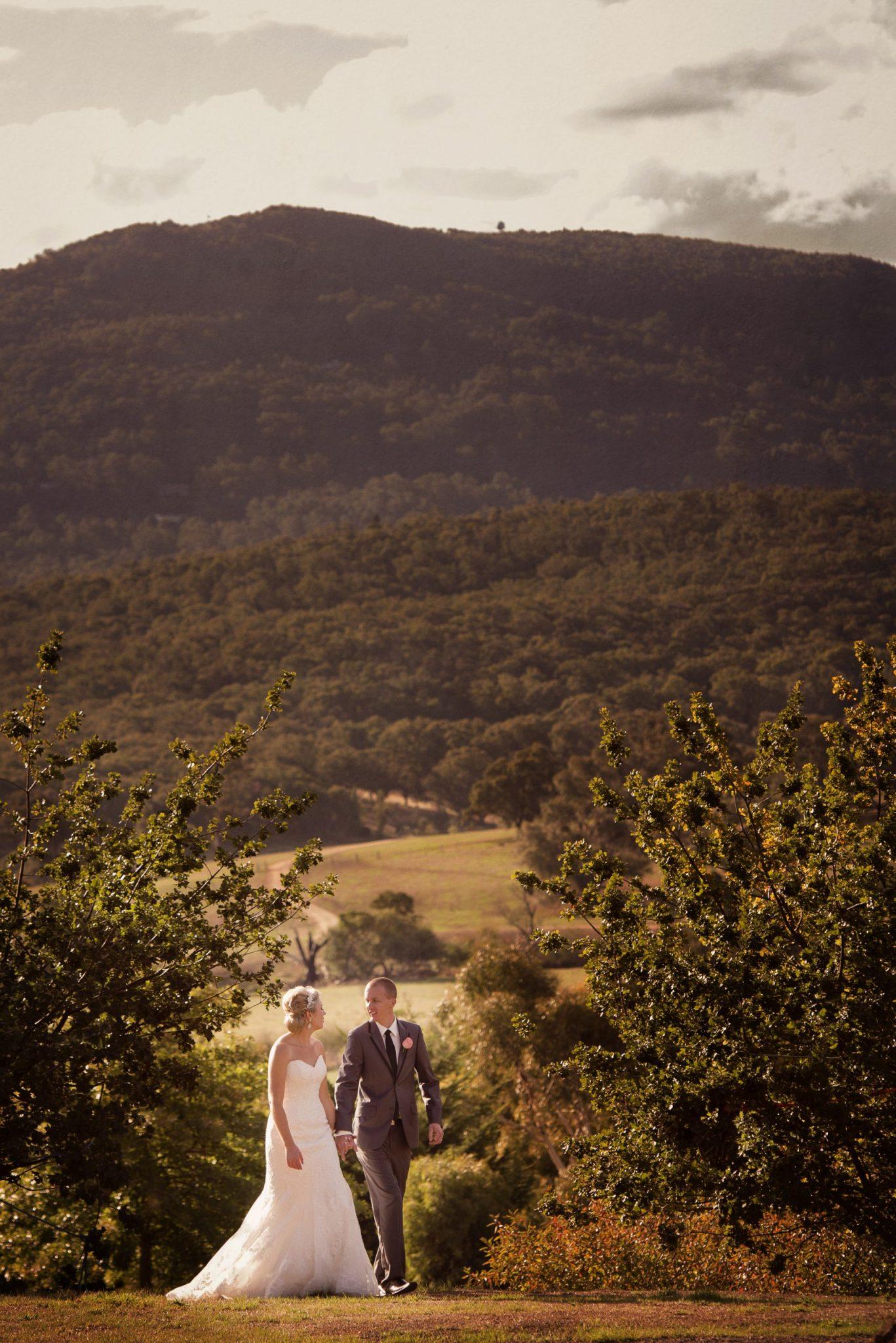 Wedding in the Macedon ranges