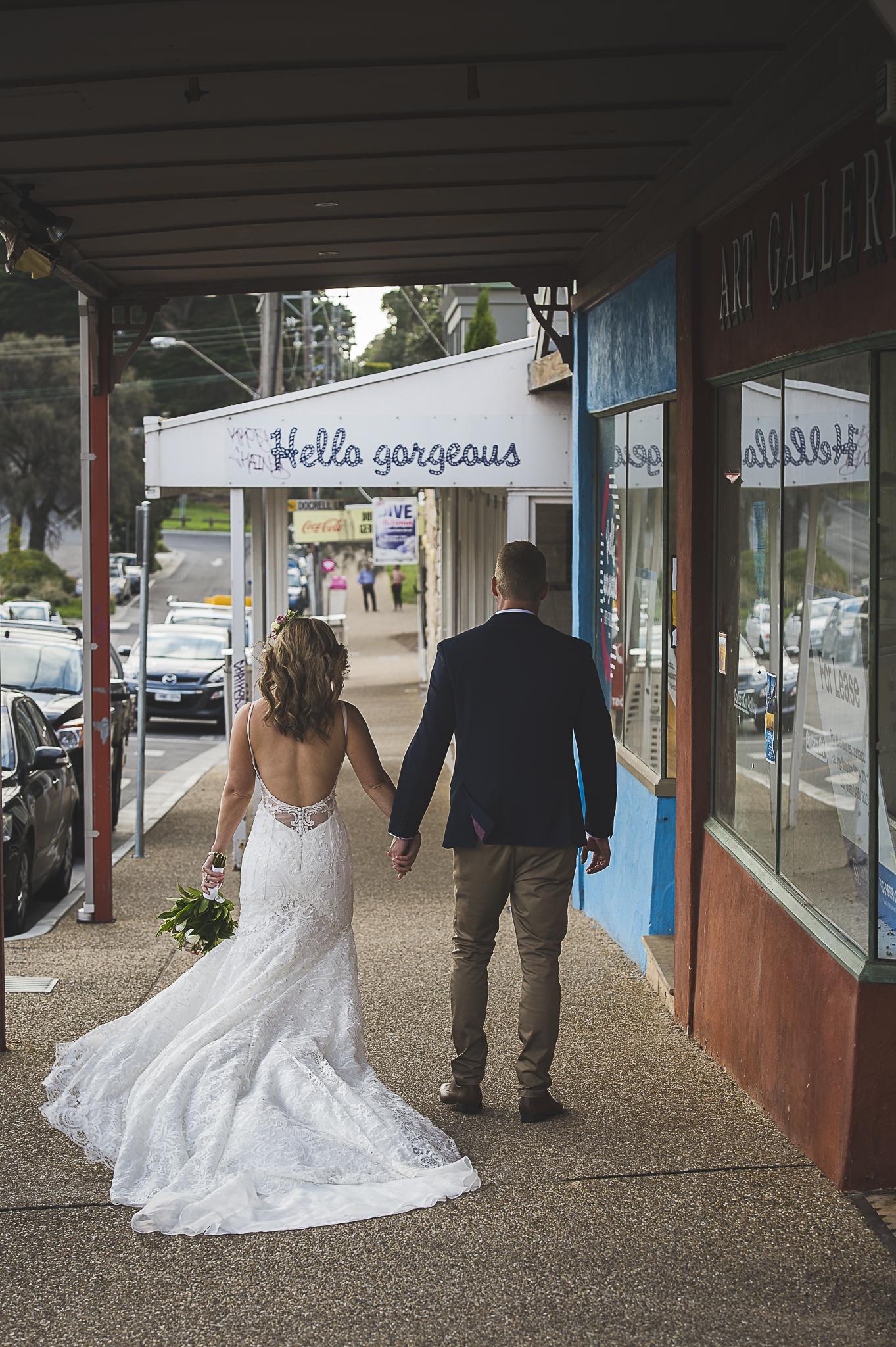 Mornington peninsular wedding