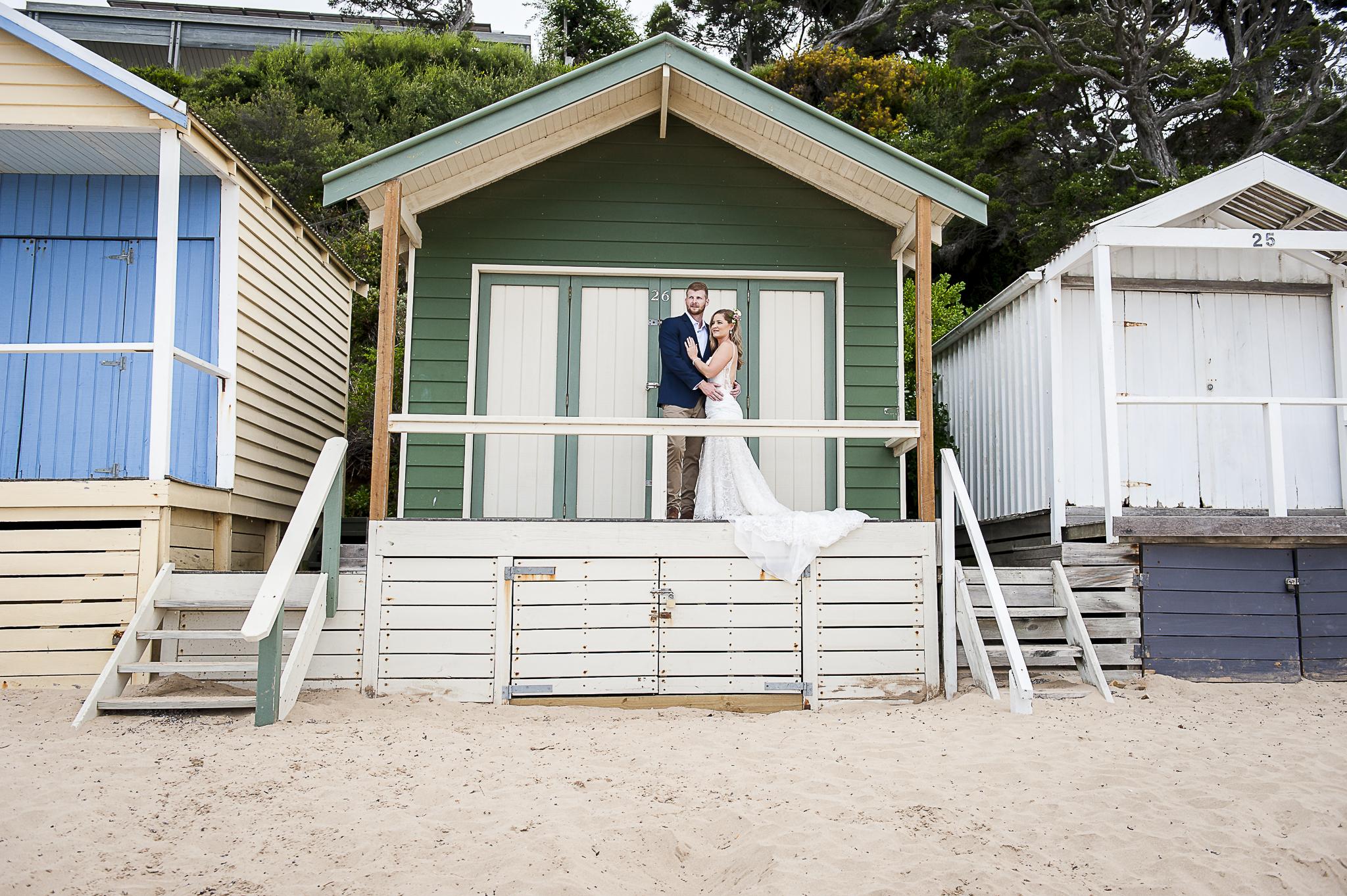 Beach Box Wedding